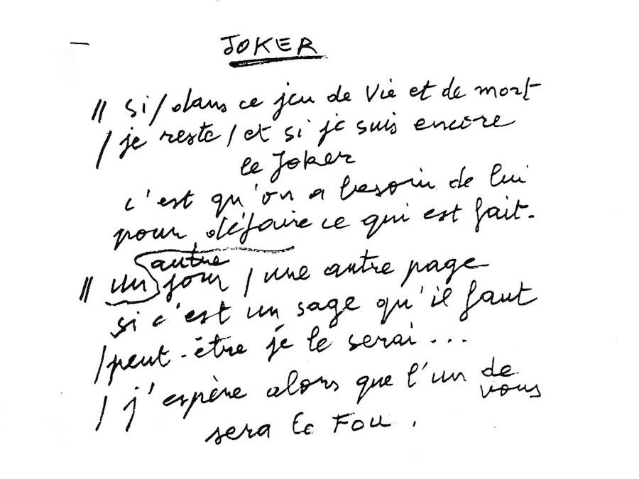 Robert Malaval_Joker_Galerie Pauline Pavec_Paris