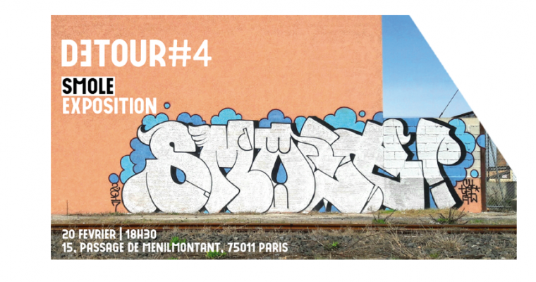 20 AU 23/02 – Smole – DETOUR #4 – Le Grand Jeu Paris