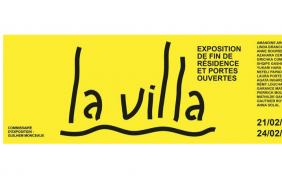 21 AU 24/02 – EXPOSITION DE FIN DE RÉSIDENCE ET PORTES OUVERTESLA VILLA – LA VILLA BELLEVILLE PARIS