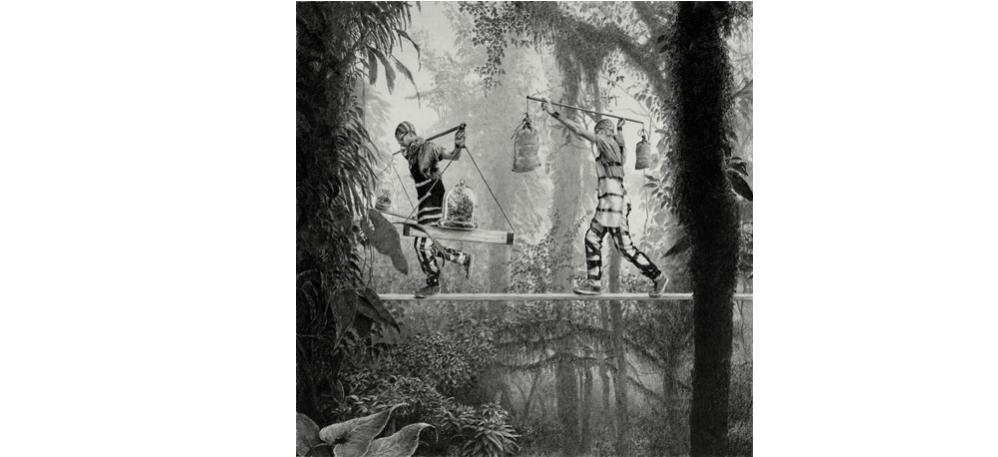 02/02 AU 30/03 – ETHAN MURROW – THE GRAND THEFT – LA GALERIE PARTICULIÈRE PARIS