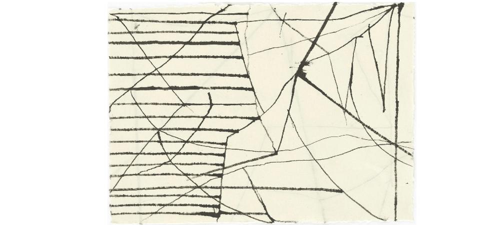 16/02 AU 04/05 – HANNS SCHIMANSKY – L'ESPACE DE LA LIGNE – GALERIE JEANNE BUCHER JAEGER   MARAIS, PARIS