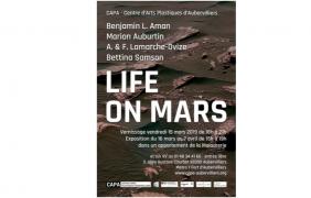 15/03 AU 07/04 – LIFE ON MARS –  CAPA AUBERVILLIERS