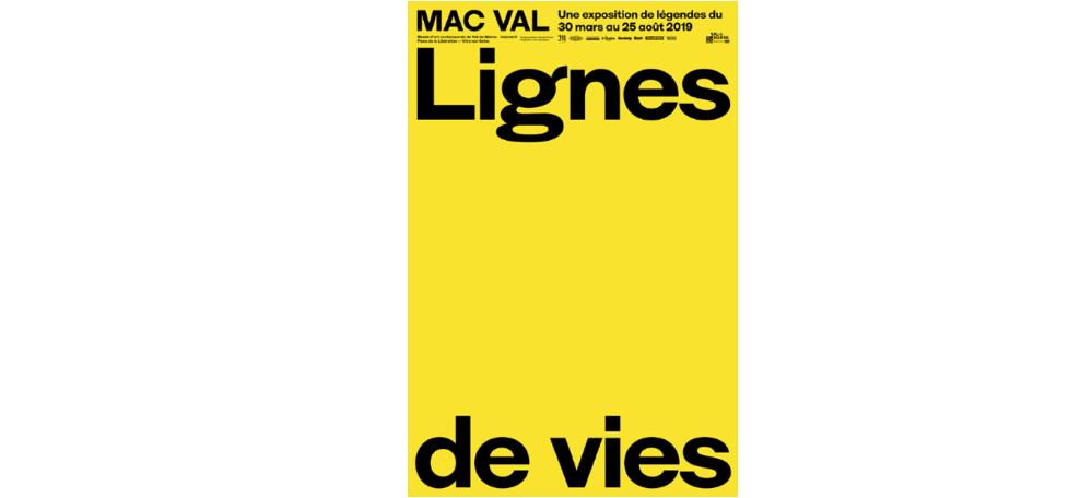 Lignes de vies – une exposition de légendes – 30/03 au 25/08 – Mac Val, Vitry-sur-Seine
