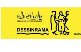 Dessinrama – 28 AU 31/03 – Villa Belleville, Paris