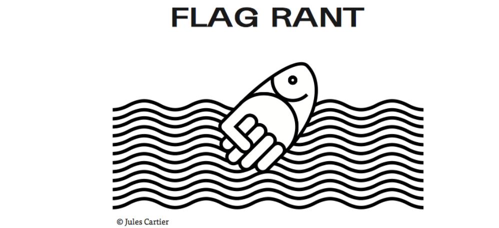 FLAG RANT – 26 au 29/03 – Galerie des Tables, Ecole des Beaux-Arts de Bordeaux