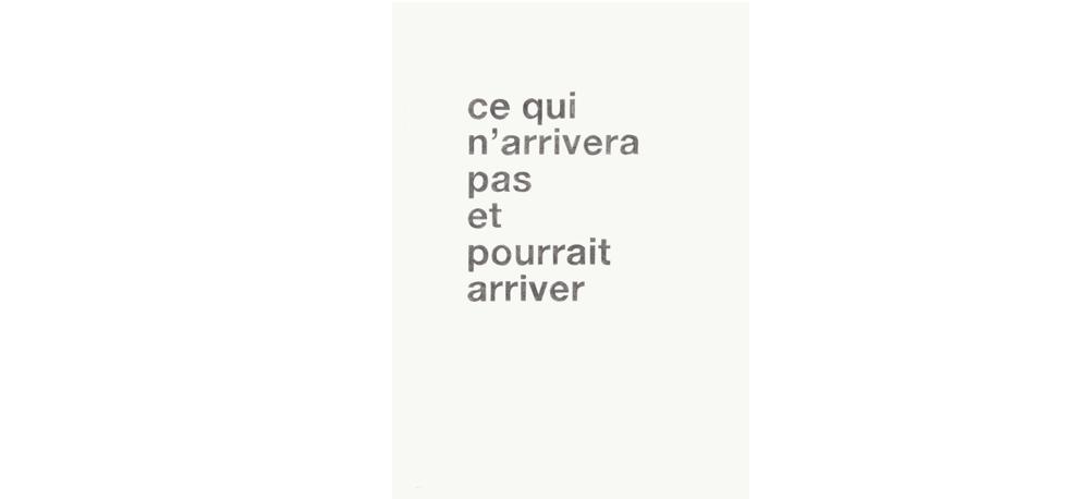 14 AU 28/03 – HÉLÈNE PARIS – L'AVENIR EST UNE FICTION – PETITE GALERIE DE LA CITÉ INTERNATIONALE DES ARTS, PARIS