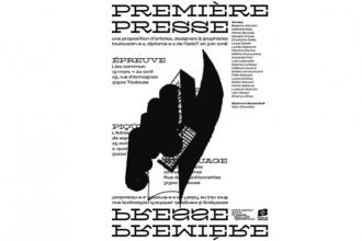 14/03 AU 20/04 – PREMIÈRE PRESSE_ ÉPREUVE– LIEU-COMMUN, ARTIST RUN SPACE TOULOUSE