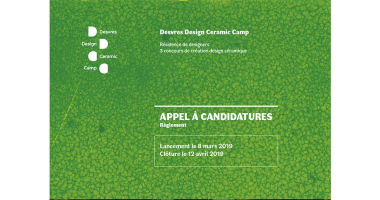 ▷12/04 – APPEL À CANDIDATURES DESVRES DESIGN CERAMIC CAMP