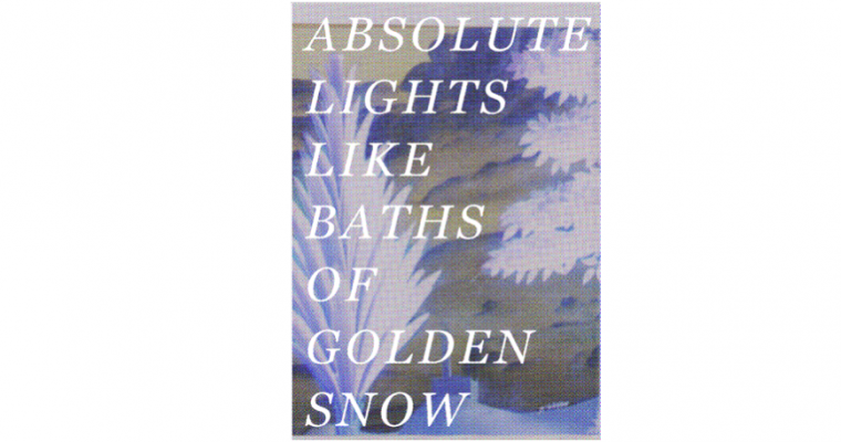 16 AU 30/03 – ABSOLUTE LIGHTS LIKE BATHS OF GOLDEN SNOW – LES GRANDES SERRES, PANTIN