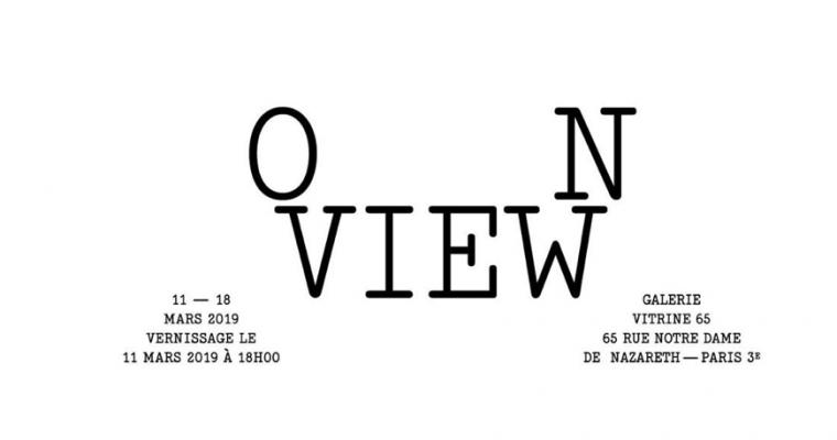 11 AU 17/03 – ON VIEW – VITRINE65, PARIS