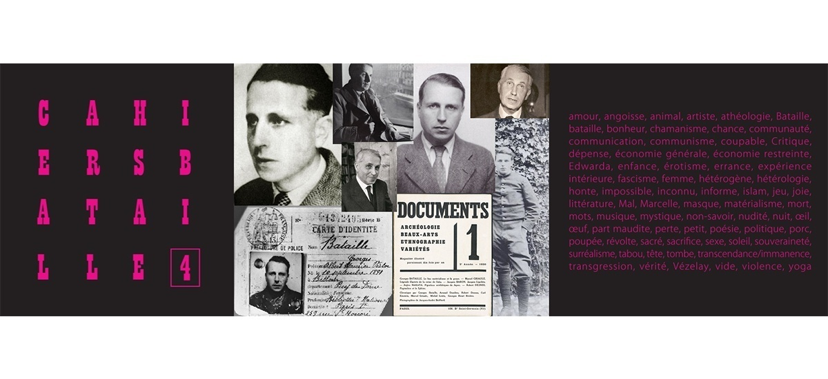 21/03 – SOIRÉE DE LANCEMENT DES CAHIERS BATAILLE #4 – FONDATION D'ENTREPRISE RICARD PARIS