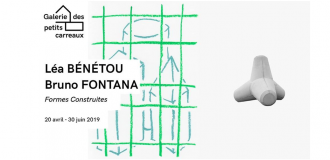 Léa Bénétou et Bruno Fontana – Formes Construites – 20/04 au 30/06 – Galerie Des Petits Carreaux, Saint-Briac