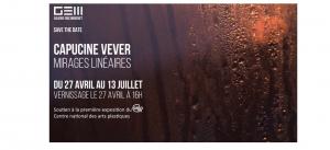 Galerie Eric Mouchet Paris_Capucine Vever_exposition Mirages Linéaires