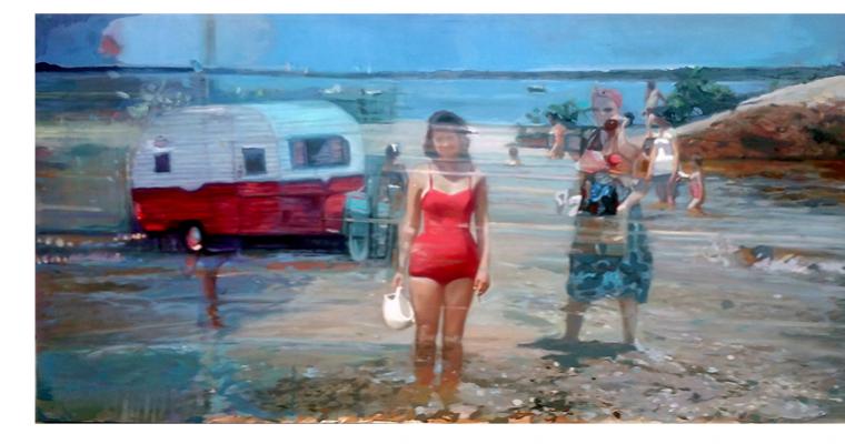 Frédéric Deprun – La brise magnétique – 27/04 au 25/05 – Galerie Gilbert Dufois, Senlis