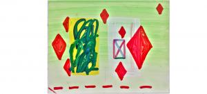 Jason Stopa_Study for Queen of Diamonds_atelier W_Pantin