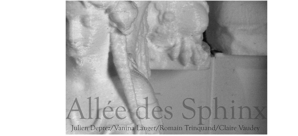 Allée des sphinx – 11/04 au 25/08 – Le Louxor, Paris