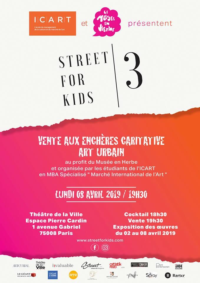 Street For Kids_Théâtre de la Ville_Espace Pierre Cardin_Paris