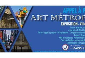 ▷14/09 – Appel à projets pour l'exposition Art Métropole