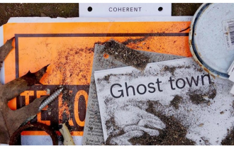 Ghost Town – 18/04 au 25/05 – Coherent, Bruxelles