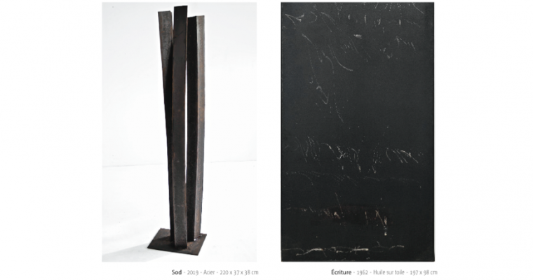 Jean Degottex – Albert Hirsch – Galerie ETC Paris