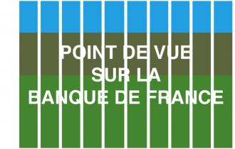 Jean Dupuy / Philippe Ramette – Point de vue  sur la Banque de France – 10 mai 2019 à mai 2020 – Dijon