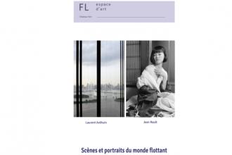 Jean Rault & Laurent Ardhuin – Scènes et portraits du monde flottant – 18/05 au 15/06 – Espace d'art FL, Chambord (27)