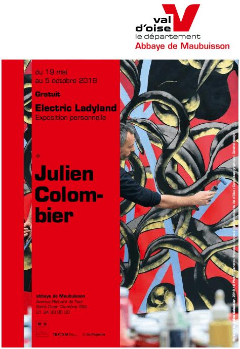 """Exposition à l'abbaye de Maubuisson, Saint-Ouen l'Aumône de Julien Colombier """"Electric Ladyland"""" jusqu'au 5 octobre 2019."""