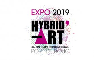 Salon d'art contemporain – HYBRID'ART 2019 – 25/05 au 07/06 – Centre d'Arts Fernand Léger de Port de Bouc