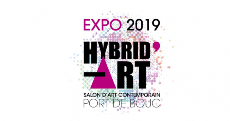 Salon d'art contemporain – HYBRID'ART 2019 – 25/05 au 07/06 – Centre d'Arts Fernand Léger de Port de Bouc