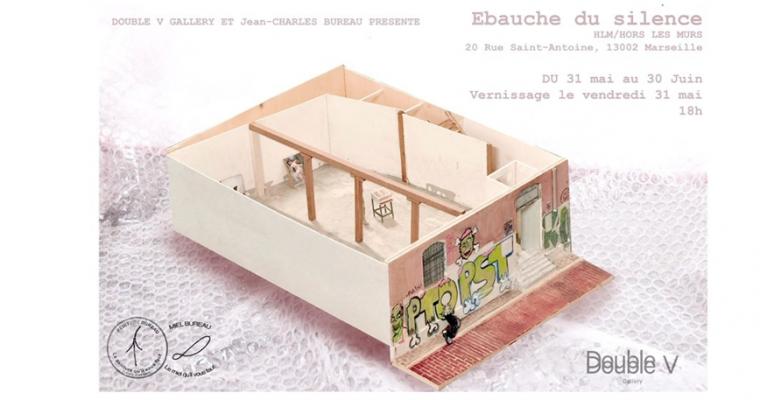 Jean-Charles Bureau – Ébauche du Silence – 31/05 au 29/06 – HLM, Marseille