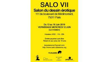 SALO VII – 13 au 16/06 – Ménilmontant, Paris