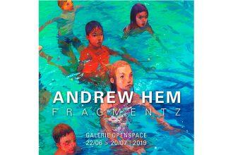 Andrew Hem – Fragmentz – 22/06 au 20/07 – Galerie Openspace, Paris