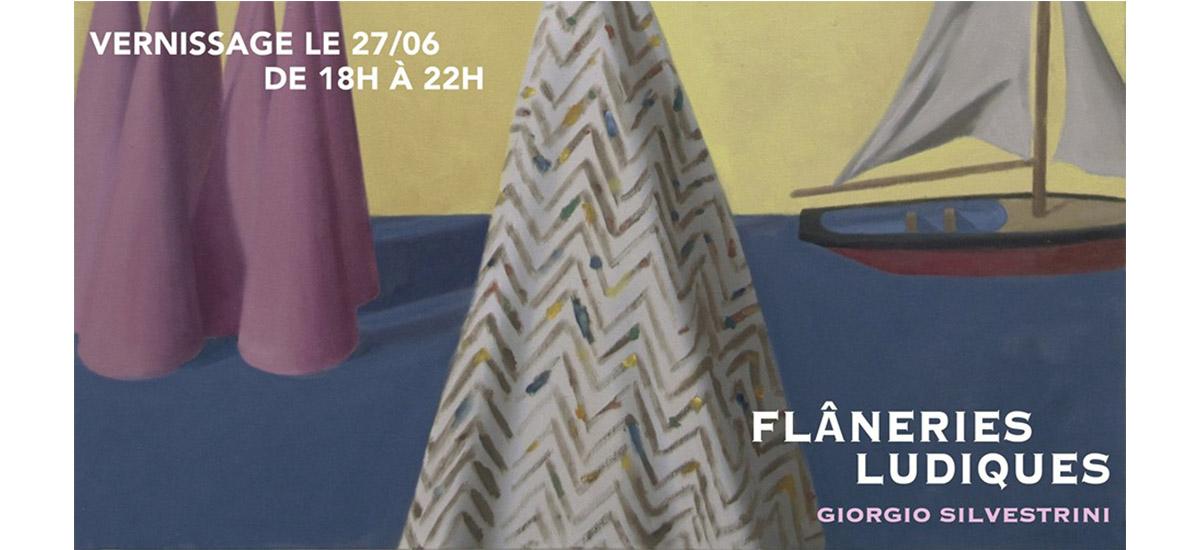 Giorgio Silvestrini – Flâneries ludiques – 27/06 au 06/07 – CAC La Traverse, Alfortville