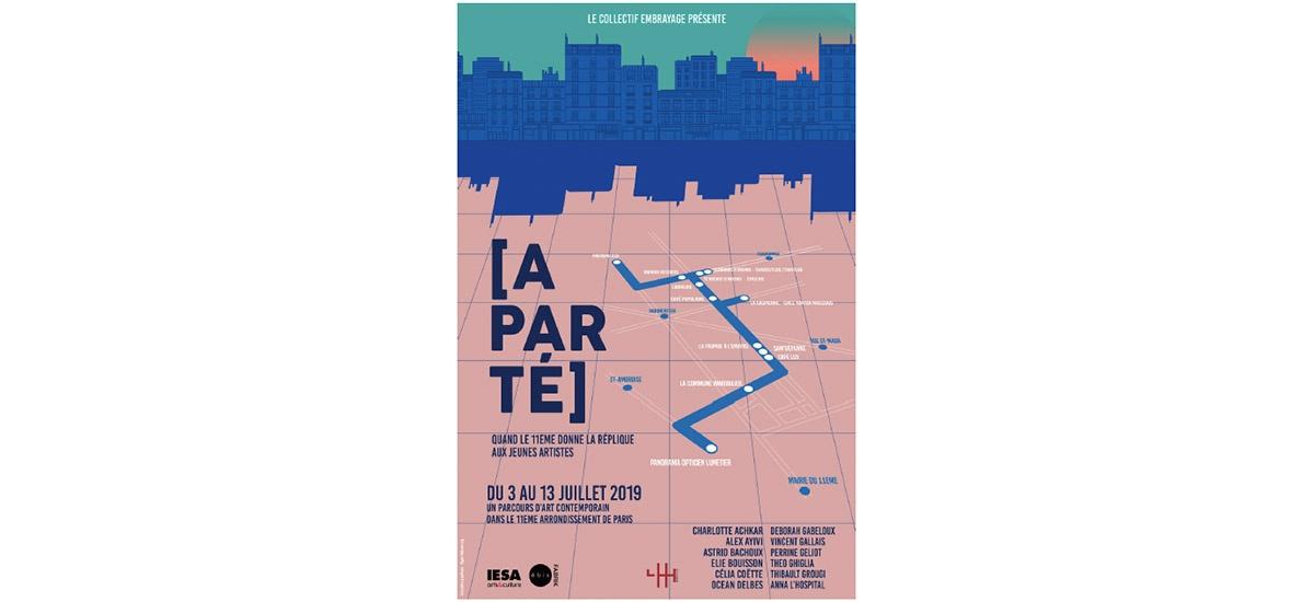 Aparté, quand le 11ème donne la réplique aux jeunes artistes – 02 au 13/07 – Paris