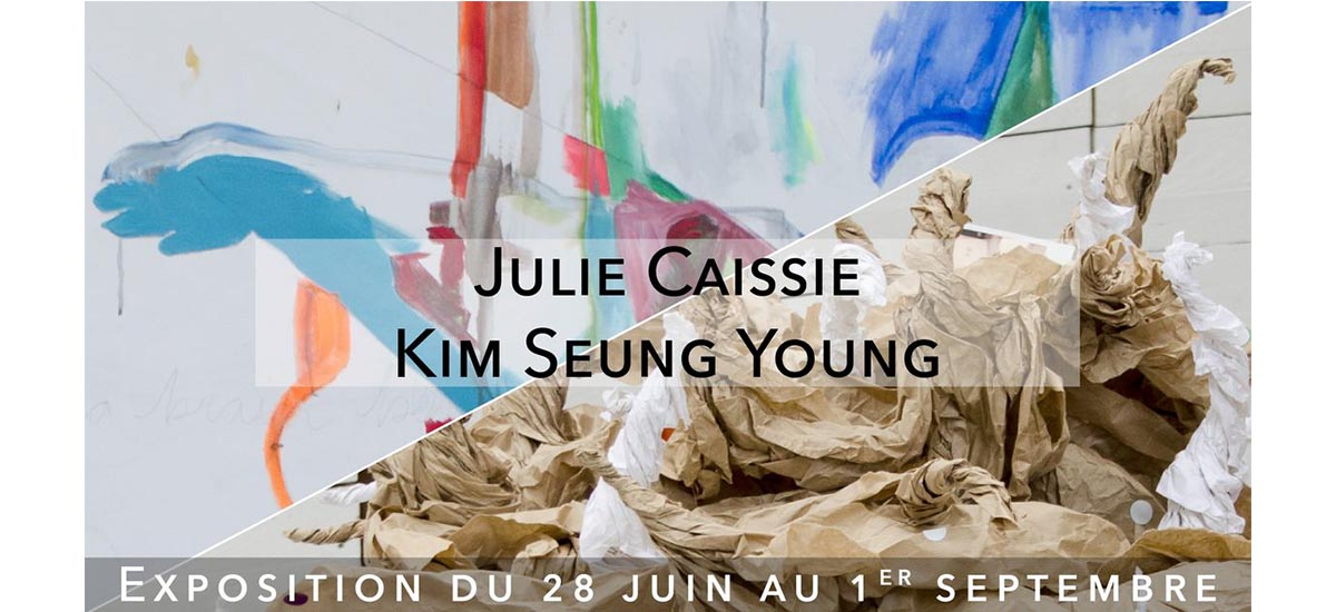 Julie Caissie / Kim Seung Young – 28/06 au 01/09 – Usine Utopik, Tessy-Bocage