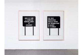 Olivier Garraud – Étant donné la situation nous ne changerons rien – 09 au 31/07 – Petite Galerie de la Cité internationale des arts, Paris