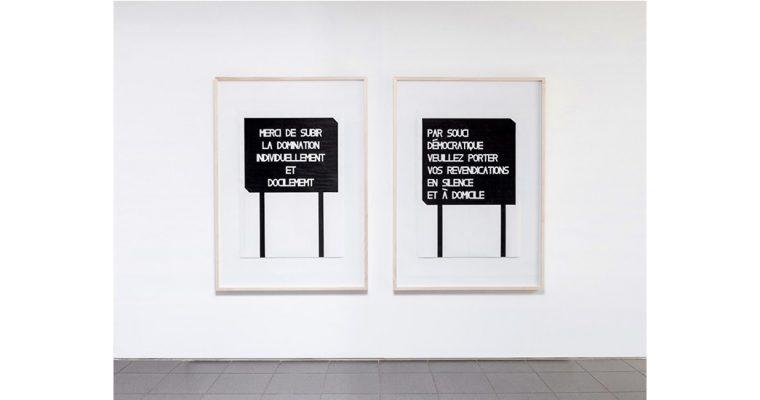 Olivier Garraud – Étant donné la situation nous ne changerons rien – 09 au 27/09 – Petite Galerie de la Cité internationale des arts, Paris