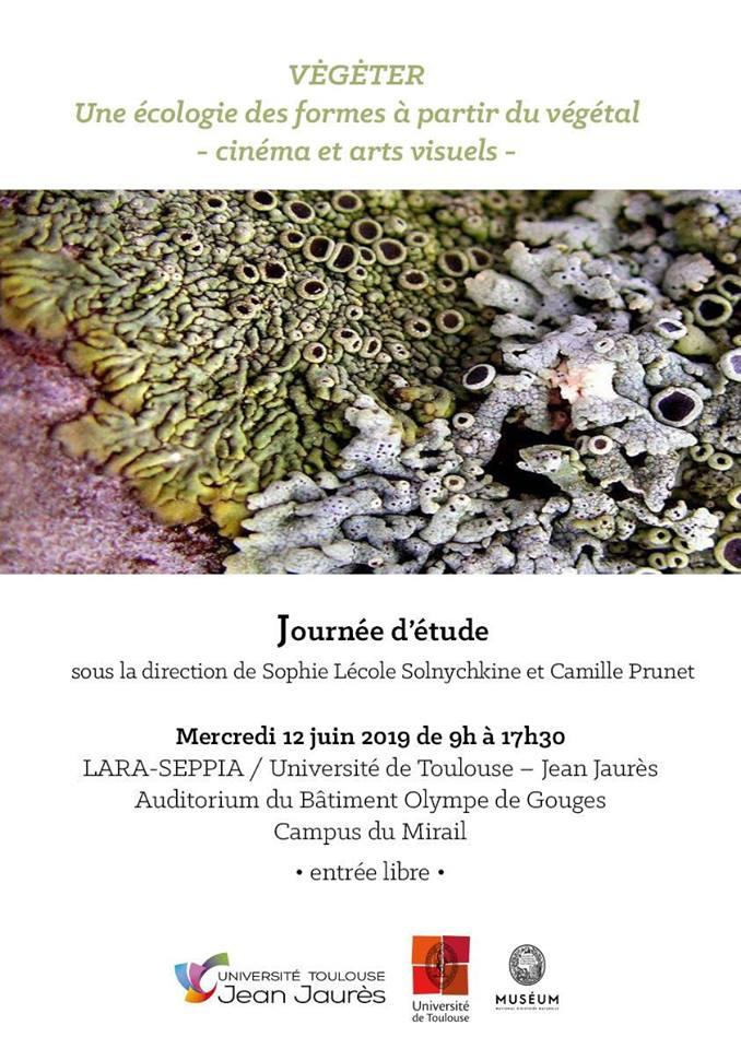 Végéter. Une écologie des formes_Sophie Lécole Solnychkine_Camille Prunet_Université Toulouse-Jean Jaurès