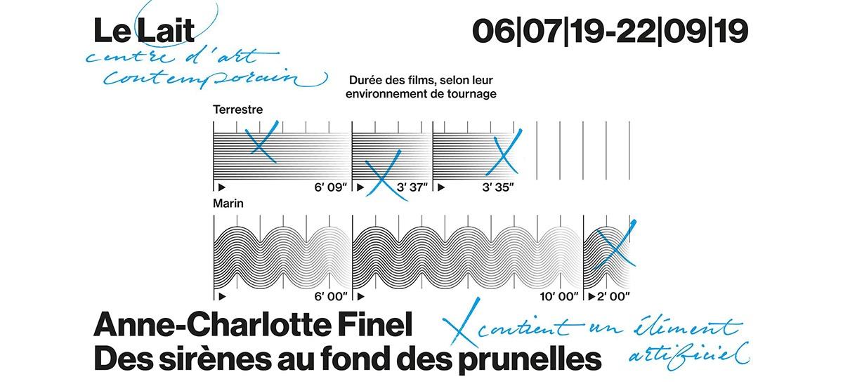 ANNE-CHARLOTTE FINEL – DES SIRÈNES AU FOND DES PRUNELLES – DU 06/07 AU 22/09 – CENTRE D'ART LE LAIT ALBI