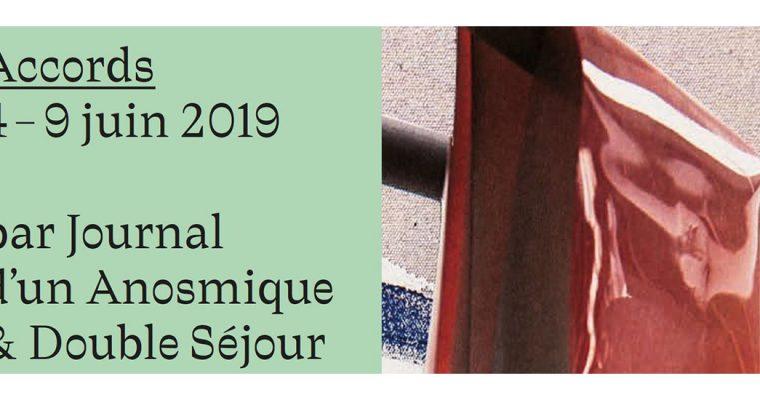 Double Séjour et Journal d'un Anosmique – Accords – Du 04 au 09/06 – Au Sept Paris