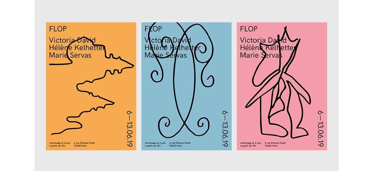 Victoria David, Hélène Kelhetter et Marie Servas – Flop – Du 06 au 13/06 – Paris