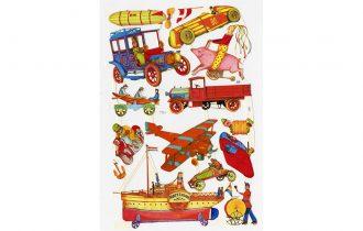 Locomotion, les jouets de Tomi Ungerer en mouvement – 21/06 au 27/10 – CEAAC Strasbourg