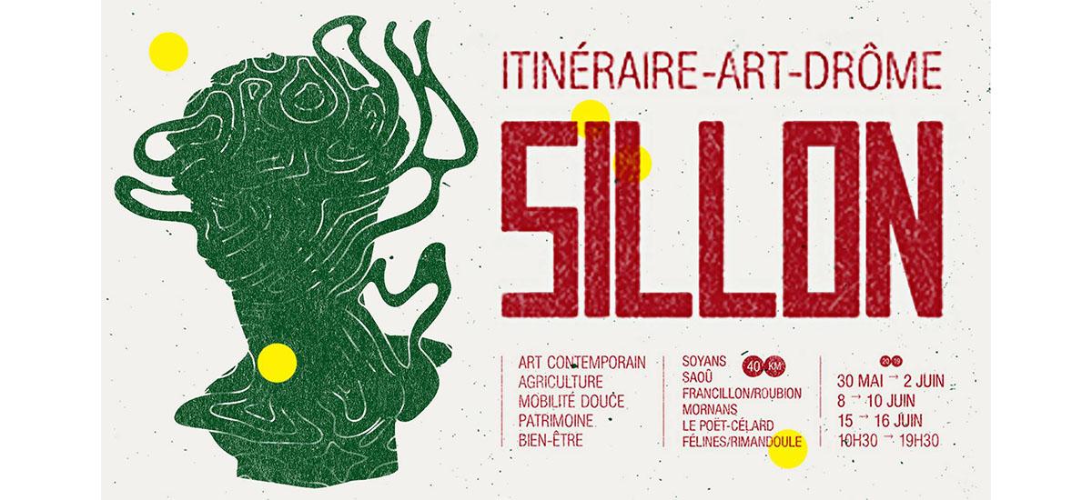 SILLON – ITINÉRAIRE ART DROME – Du 30/05 au 16/06