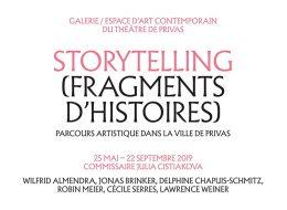 STORYTELLING (FRAGMENTS D'HISTOIRES) – 25/05 au 22/09 – Théâtre de Privas
