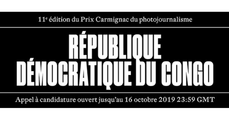 ▷16/10 – APPEL À CANDIDATURE – 11E ÉDITION DU PRIX CARMIGNAC DU PHOTOJOURNALISME