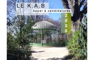 ▷22/09 – APPEL A CANDIDATURE – LE K.A.B 2020