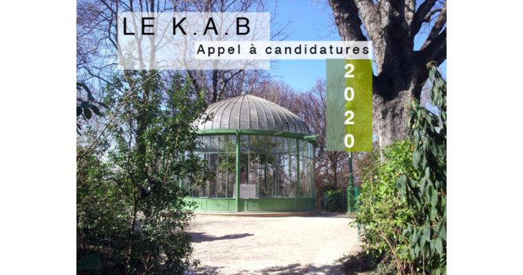 ▷25/09 – APPEL A CANDIDATURE – LE K.A.B 2020