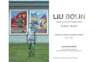 Liu Bolin –  Hiding on the 38th Parallel North – 07/09 au 26/10 – Galerie Paris-Beijing, Paris