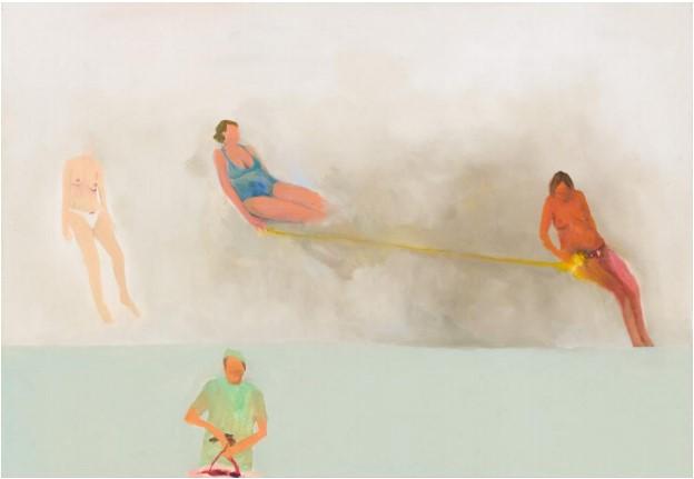 Exposition personnelle Relax de Marlon Wobst à la Galerie Maria Lund, Paris jusqu'au 09 novembre 2019.