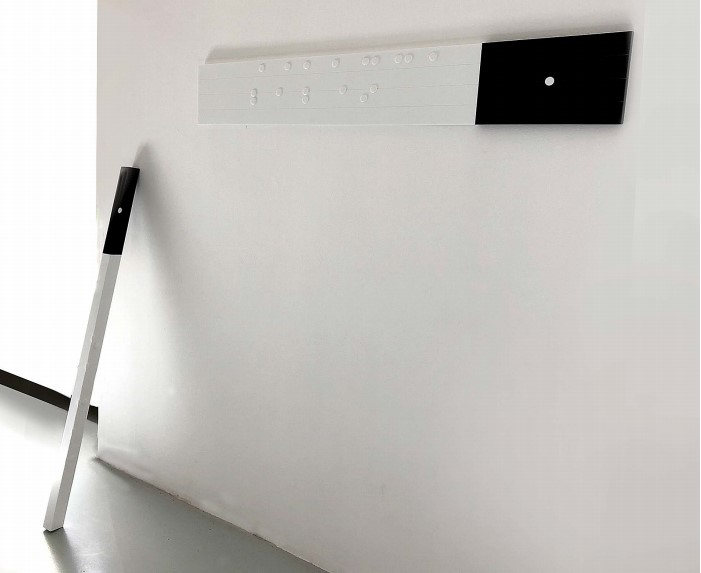 Exposition personnelle « Motivus » on touche avec les yeux de Nathalie Elemento à la Galerie Maubert, Paris jusqu'au 28 octobre 2019.